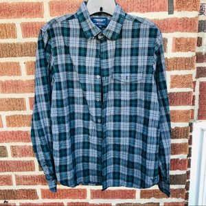 American Eagle Plaid Flannel Shirt Slim Fit